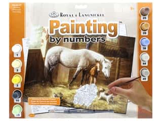 projects & kits: Royal Paint By Number Adult Large New Friends