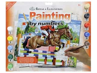 craft & hobbies: Royal Paint By Number Junior Large Show Jumping
