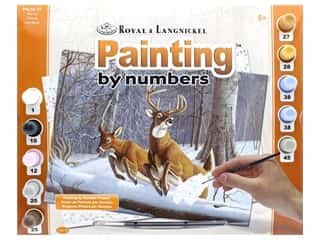 craft & hobbies: Royal Paint By Number Adult Large White Tails