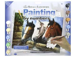 craft & hobbies: Royal Paint By Number Junior Large Three Of a Kind