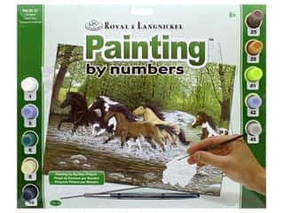 projects & kits: Royal Paint By Number Adult Large Free Spirits