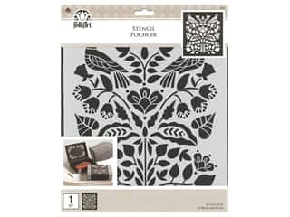 craft & hobbies: Plaid Stencil Folkart 8.5 in. x 9.5 in. Modern Folk