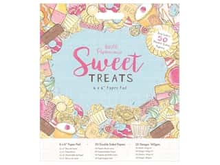 "Docrafts Papermania Paper Pad 6""x 6"" Sweet Treats"