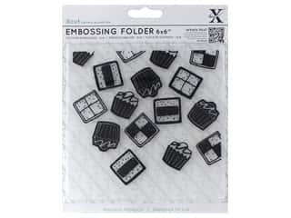 "Docrafts Xcut Embossing Folders 6""x 6"" Sweet Treats Mini Cakes"