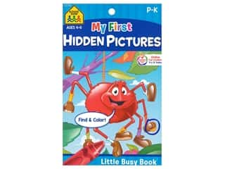 books & patterns: School Zone Little Busy Book My First Hidden Pictures Book