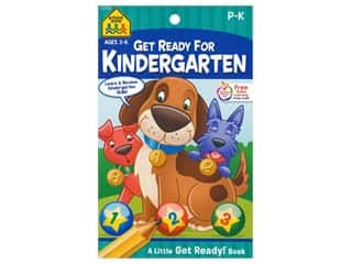books & patterns: School Zone Little Get Ready! Get Ready For Kindergarten Book