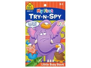 School Zone Little Busy Book My First Try-N-Spy Book