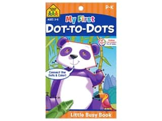 books & patterns: School Zone Little Busy Book My First Dot To Dots Book