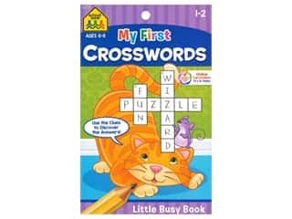 books & patterns: School Zone Little Busy Book My First Crosswords Book