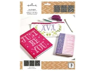 craft & hobbies: Plaid Hallmark Handcrafted Adhesive Stencils 8 1/2 x 9 1/2 in. Princess Font Little