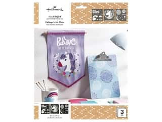 craft & hobbies: Plaid Hallmark Handcrafted Adhesive Stencils Design Pack - Little Princess