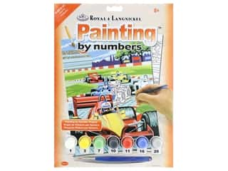 craft & hobbies: Royal Paint By Number Junior Small Grand Prix (3 kits)