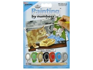 projects & kits: Royal Paint By Number Mini Junior Curious Kitten