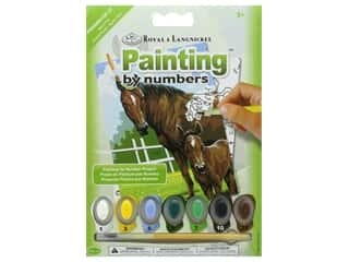 craft & hobbies: Royal Paint By Number Mini Junior Mare & Foal