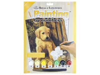 projects & kits: Royal Paint By Number Junior Small Puppy Blues