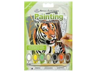Royal Paint By Number Kit Mini Tiger