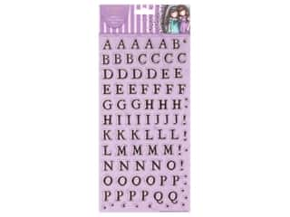 Docrafts Santoro Gorjuss Sticker Thicker Alphabet