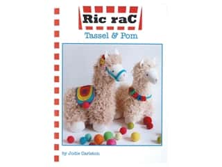 books & patterns: Ric Rac Tassel & Pom Llamas Pattern