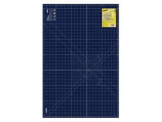 Olfa Rotary Mat 24 in. x 36 in. Navy Blue With Grid