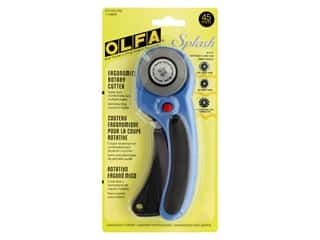 Olfa Rotary Cutter 45 mm Ergonomic Pacific Blue