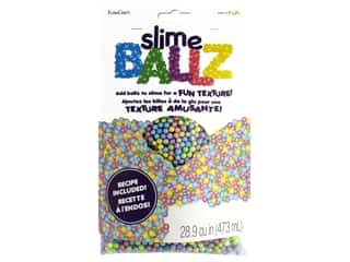 FloraCraft Foam Slime Balls 5 mm Rainbow 28.9 cu in