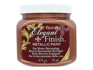DecoArt Elegant Finish Glaze10 oz Metallic Worn Penny