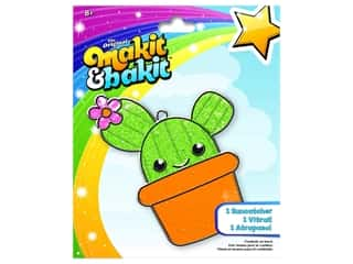 craft & hobbies: Colorbok Kit Makit & Bakit Suncatcher Cactus