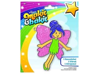 craft & hobbies: Colorbok Kit Makit & Bakit Suncatcher Fairy