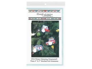 Pearl Louise Designs Winter Glamping Ornaments Pattern