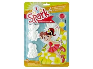Colorbok Spark Plaster Magnets Kit - Fairy Dust
