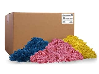 craft & hobbies: PA Essentials Crinkle Shred 10 lb. Fiesta