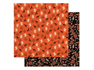"Carta Bella Collection Happy Halloween Paper 12""x 12"" Happy Haunting (25 pieces)"