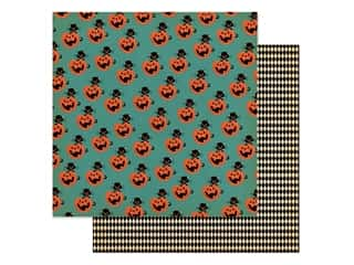 "Carta Bella Collection Happy Halloween Paper 12""x 12"" Toil & Trouble (25 pieces)"