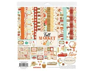 "Carta Bella Collection Fall Market Collection Kit 12""x 12"""
