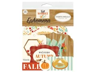 Carta Bella Collection Fall Market Ephemera