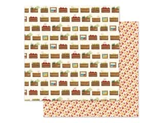 "Carta Bella Collection Fall Market Paper 12""x 12"" Harvest Crates (25 pieces)"