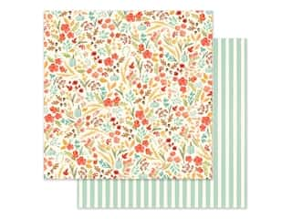 "Carta Bella Collection Fall Market Paper 12""x 12"" Fall Floral (25 pieces)"