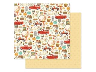 "Carta Bella Collection Fall Market Paper 12""x 12"" Happy Harvest (25 pieces)"