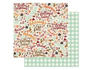 "Echo Park Collection My Favorite Fall Paper 12""x 12"" Hello Autumn (25 pieces)"
