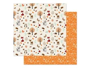 """scrapbooking & paper crafts: Echo Park Collection My Favorite Fall Paper 12""""x 12"""" Fall Friend (25 pieces)"""