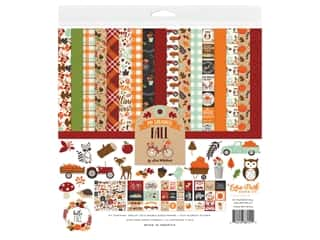 """scrapbooking & paper crafts: Echo Park Collection My Favorite Fall Collection Kit 12""""x 12"""""""
