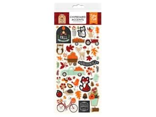 "Echo Park Collection My Favorite Fall Chipboard 6""x 12"" Accents"