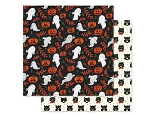 "Echo Park Collection Trick Or Treat Paper 12""x 12"" Spooky Ghosts (25 pieces)"