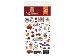 Echo Park Collection My Favorite Fall Stickers Puffy