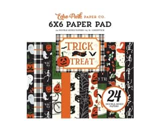 "Echo Park Collection Trick Or Treat Paper Pad 6""x 6"""