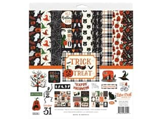 "Echo Park Collection Trick Or Treat Collection Kit 12""x 12"""