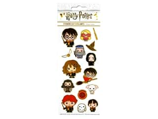 Paper House Sticker Enamel Warner Bros Harry Potter Chibi