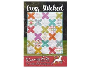 Villa Rosa Designs Running Doe Cross Stitched Pattern