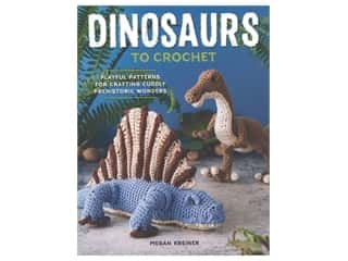 Spring House Press Dinosaurs To Crochet Book