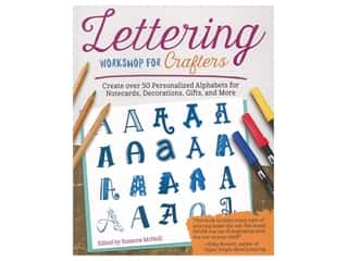 books & patterns: Lettering Workshop for Crafters Book